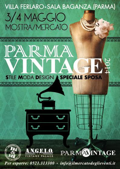 Promocard Parma Vintage 2014